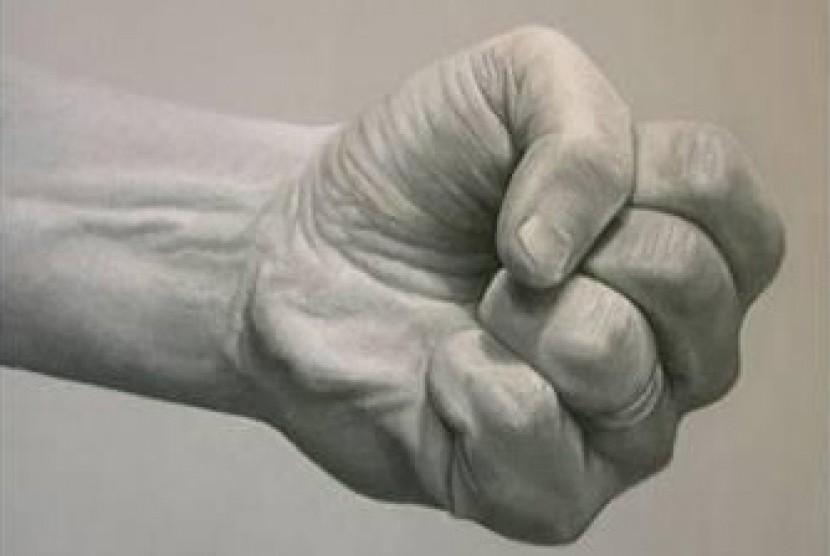 Tangan Mengepal (Ilustrasi)