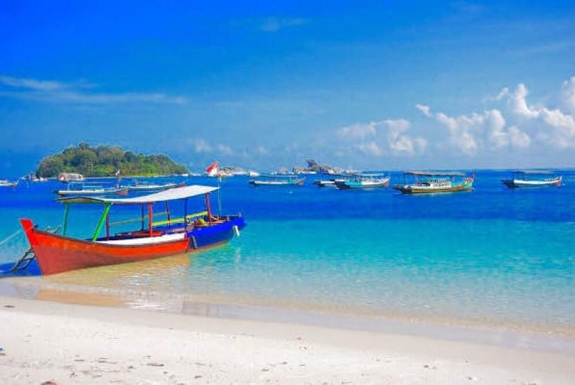 Tanjung Kelayang. Ilustrasi