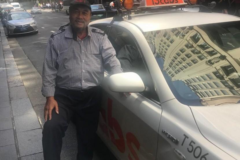 Tato Suharto. pengemudi Taxi di Sydney asal Sukabumi.