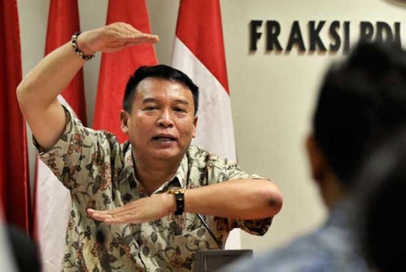 Wakil Ketua Komisi I DPR RI TB Hasanuddin
