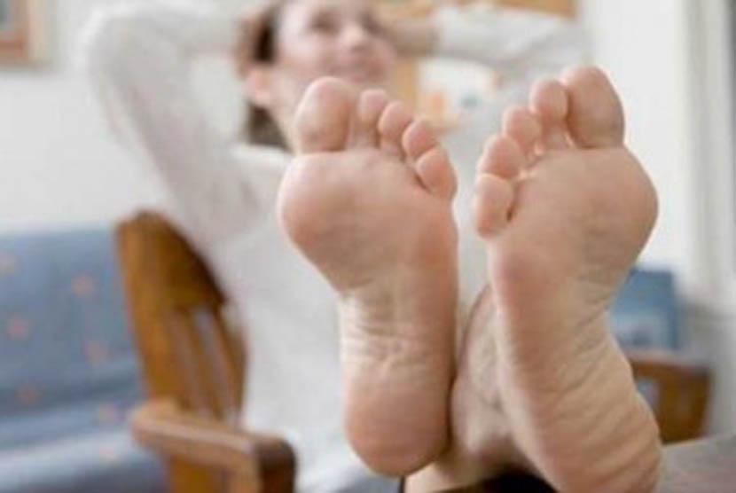 Telapak kaki (ilustrasi)