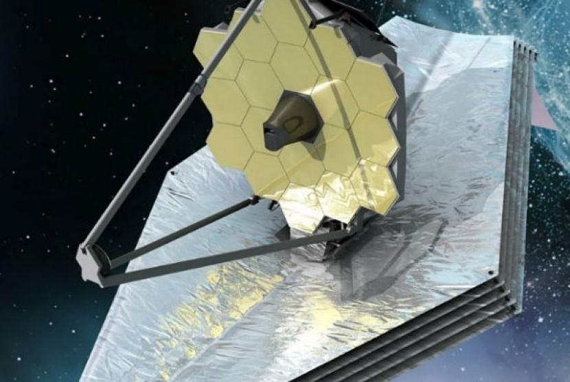 teleskop JWST  akan dirilis tahun 2018