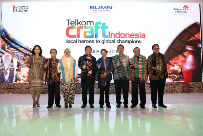 400 Ukm Binaan Bumn Hadir Di Telkom Craft Indonesia 2018 Republika Online