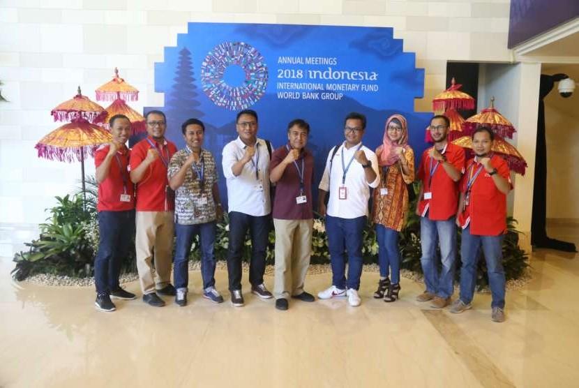 Telkomsel mencatat peningkatan trafik layanan data 23 persen sepanjang Pertemuan Tahunan Dana Moneter Internasional (IMF) - Bank Dunia (World Bank) 2018 di Bali.