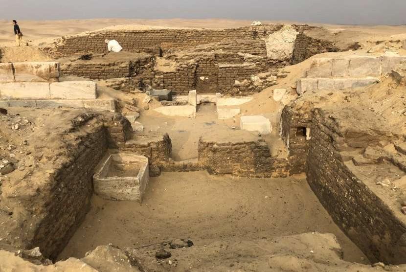 Temuan makam yang diyakini merupakan milik teman satu-satunya FIraun.
