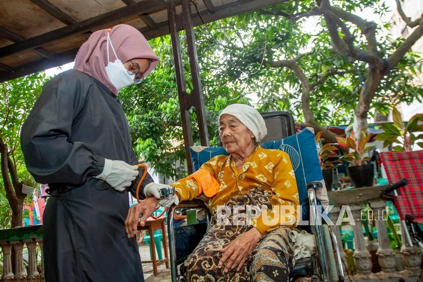 Kalurahan di Sleman Diminta Jemput Bola Vaksinasi Lansia (ilustrasi).