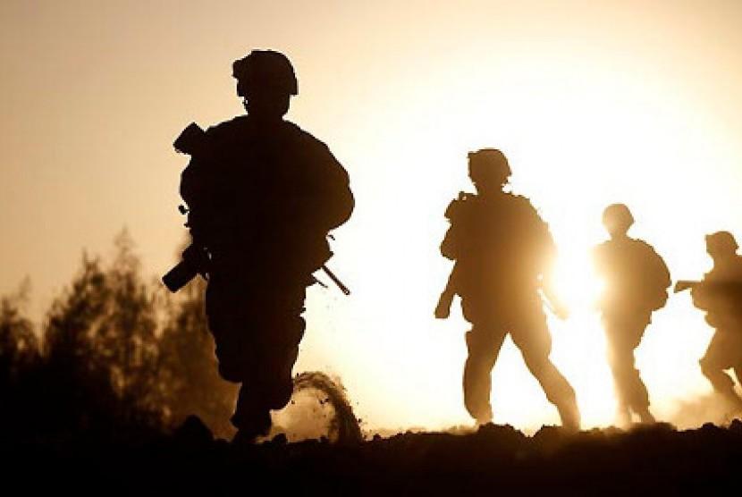 Tentara (ilustrasi)