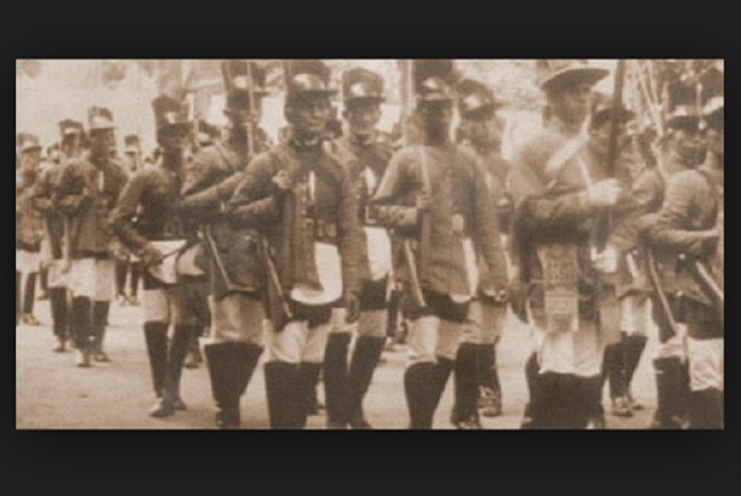 Tentara Mataram.