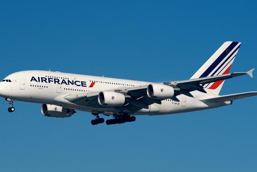 Pesawat Air France  (foto ilustrasi)