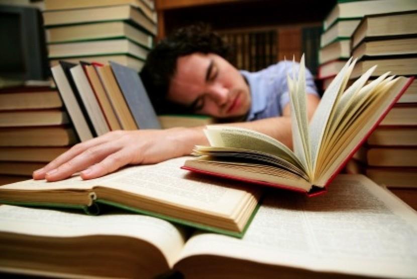Terlambat belajar (ilustrasi)