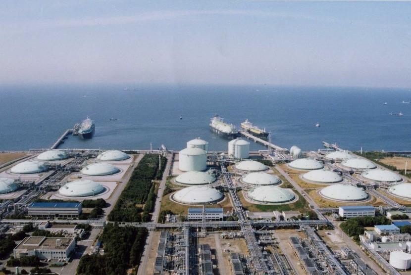 terminal LNG (ilustrasi)