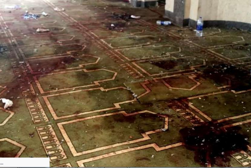Teror Bom di Masjid Al-Rawdah Mesir
