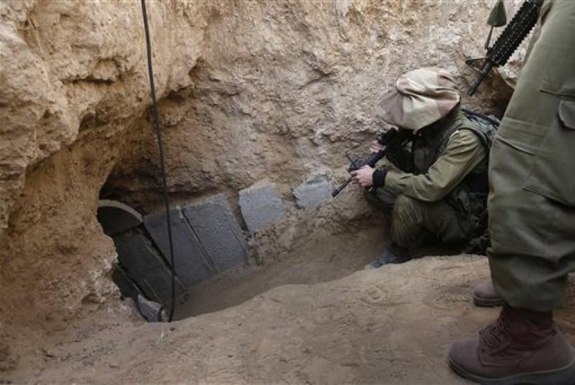 Terowongan bawah tanah Gaza-Israel