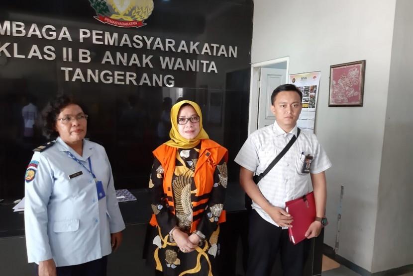 Terpidana kasus suap proyek PLTU Riau-1, Eni Maulani Saragih