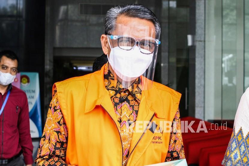 Tersangka Gubernur nonaktif Sulawesi Selatan Nurdin Abdullah.