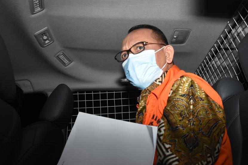 Terdakwa kasus suap dan gratifikasi penanganan perkara di Mahkamah Agung Nurhadi.