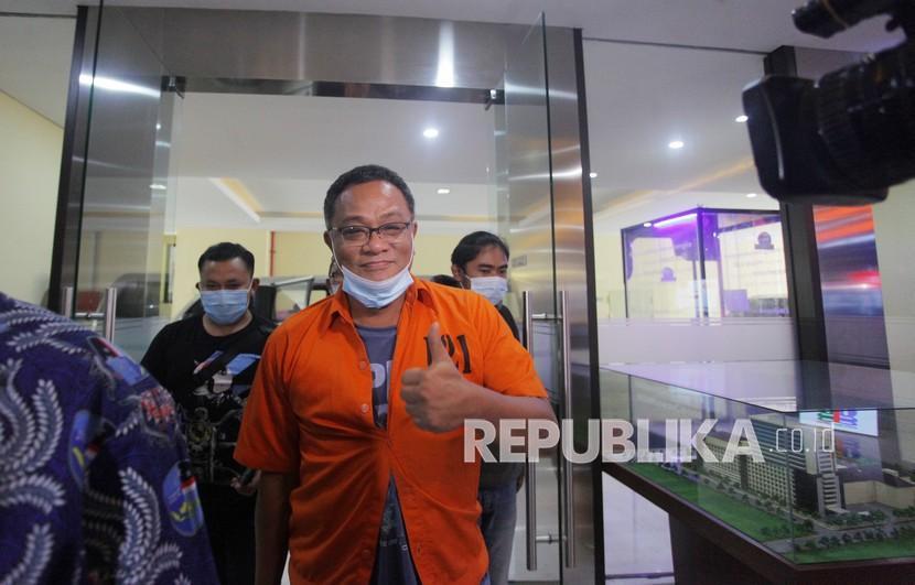 Aktivis Koalisi Aksi Menyelamatkan Indonesia (KAMI) Jumhur Hidayat.