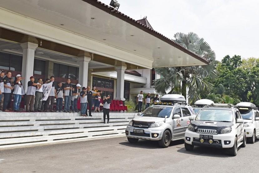 Teruci rayakan HUT ke-10 dengan menggelar touring ke Palembang, Sumatera Selatan