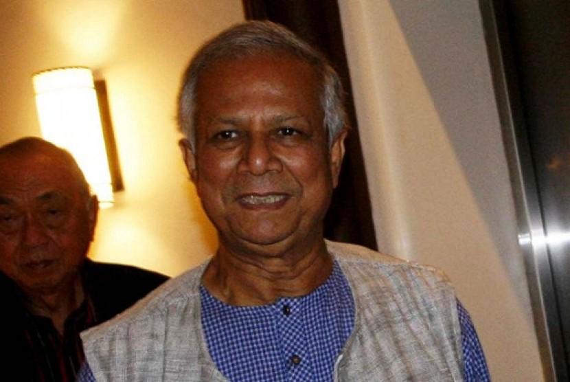 Muhammad Yunus, peraih nobel 2006.