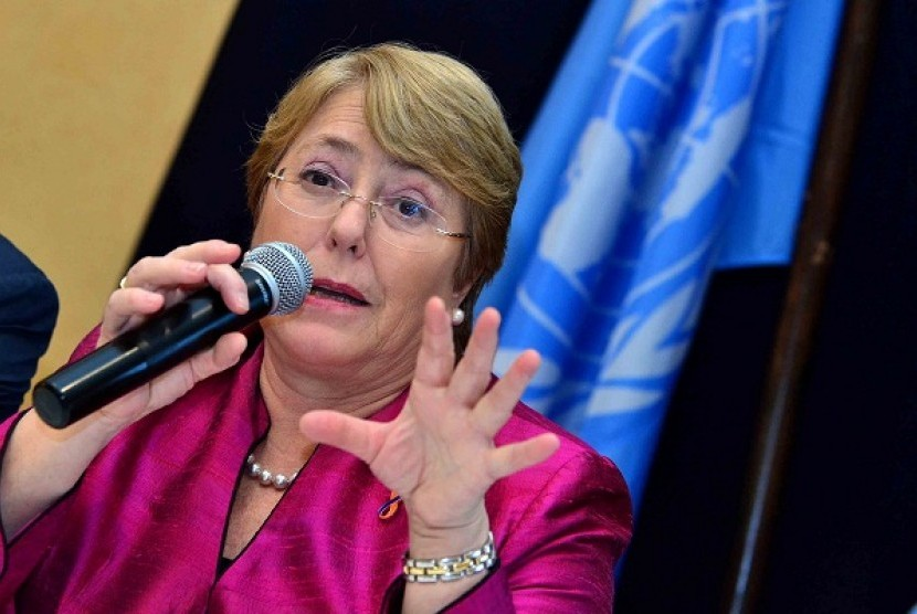 United Nations (UN) High Commissioner for Human Rights, Michelle Bachelet