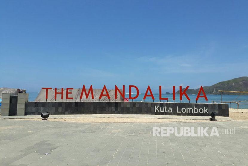 The Mandalika atau Kawasan Ekonomi Khusus (KEK) Mandalika.