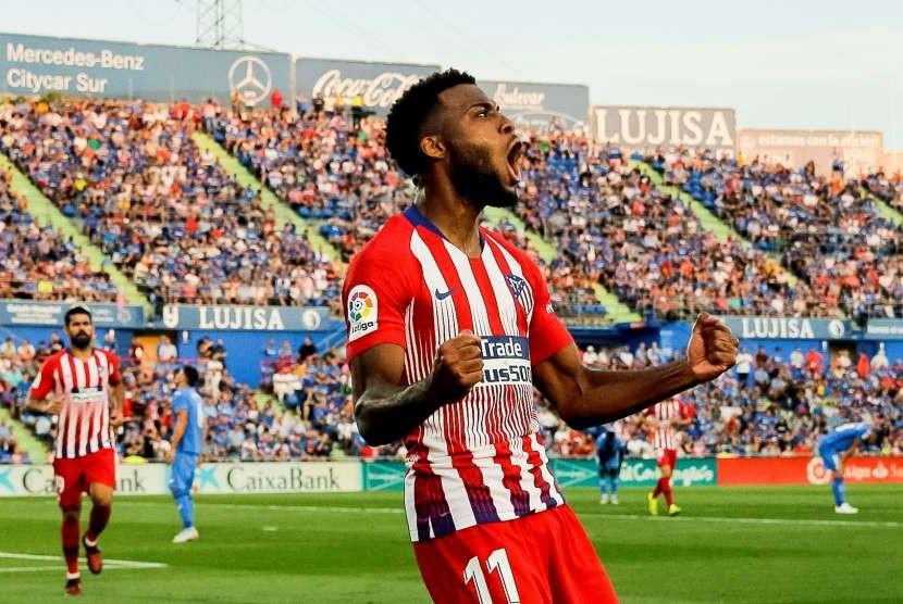 Atletico: Thomas Lemar dan Hector Herrera Positif Covid-19