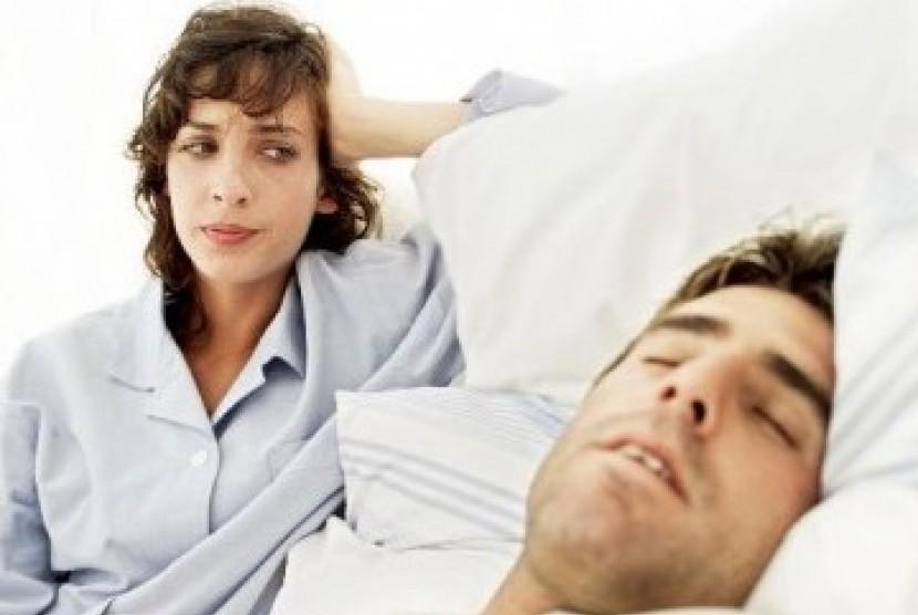 Tidur kurang berkualitas. Ilustrasi