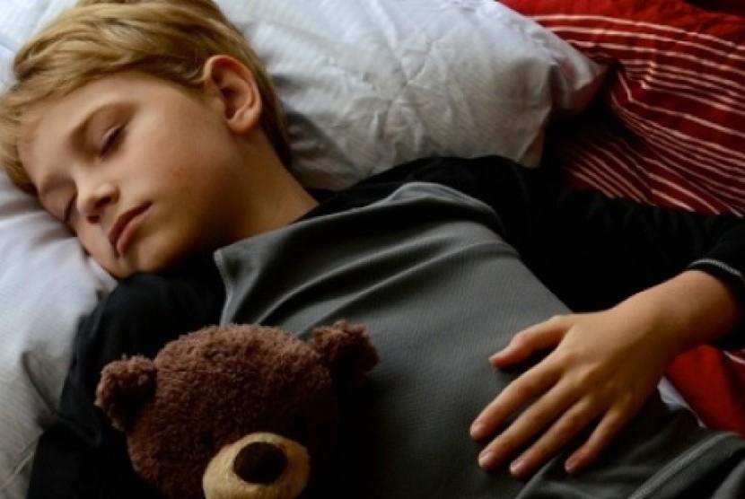 Tidur Malam (Ilustrasi)