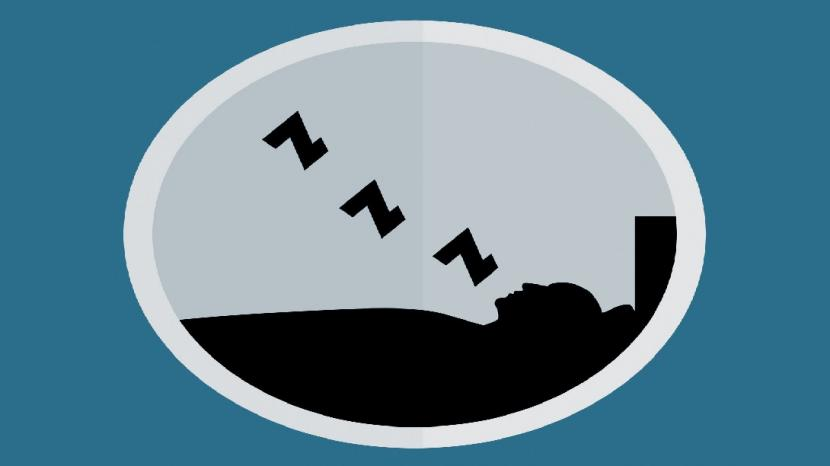 Tidur (Ilustrasi)