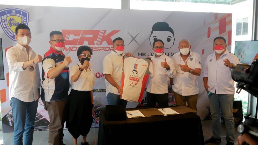 Tim Balap CRK Motorsport resmi mengumumkan Mr. Cuanisasi sebagai Sponsor utama musim 2021 dan 2022.