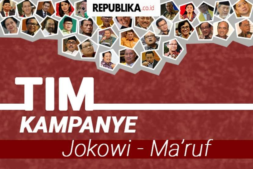 Tim Kampanye Jokowi-Ma'ruf.