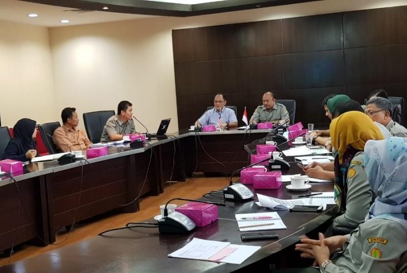 Tim Malaysia melakukan kunjungan ke Kantor Pusat Ditjen Peternakan dan Kesehatan Hewan Jakarta untuk mengetahui kebijakan Indonesia dalam percepatan peningkatan sapi, terutama melalui Upsus Siwab.
