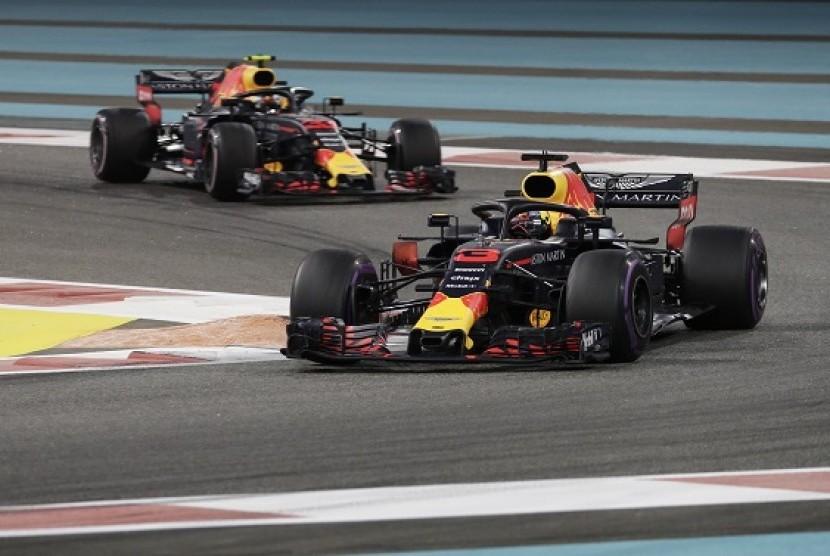 Tim Red Bull pada musim bapal F1 2018