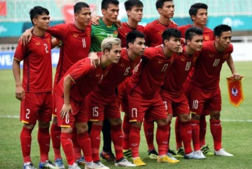 Tim sepak bola Vietnam.