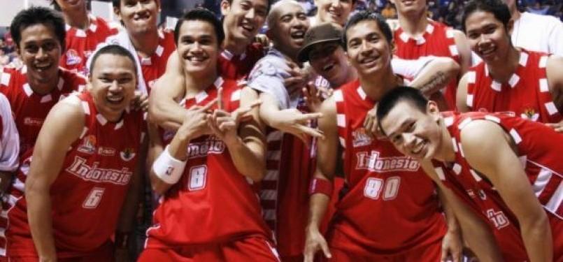 Timnas basket putra Indonesia. (ilustrasi)