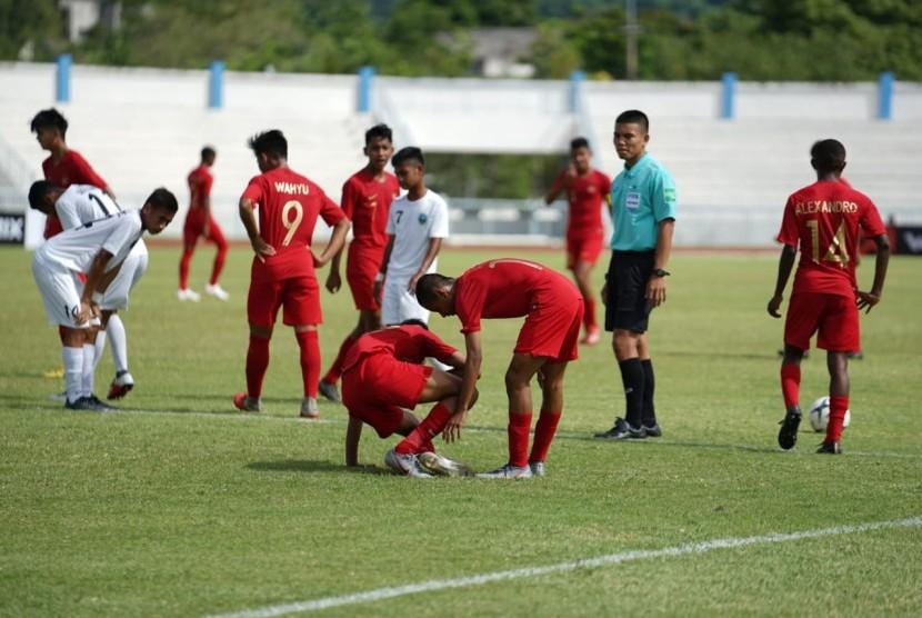 Timnas Indonesia U-15 vs Timor Leste U-15.