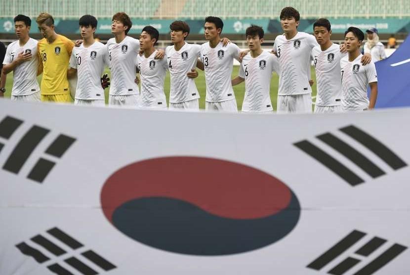 Timnas sepak bola putra Korea Selatan pada Asian Games 2018.