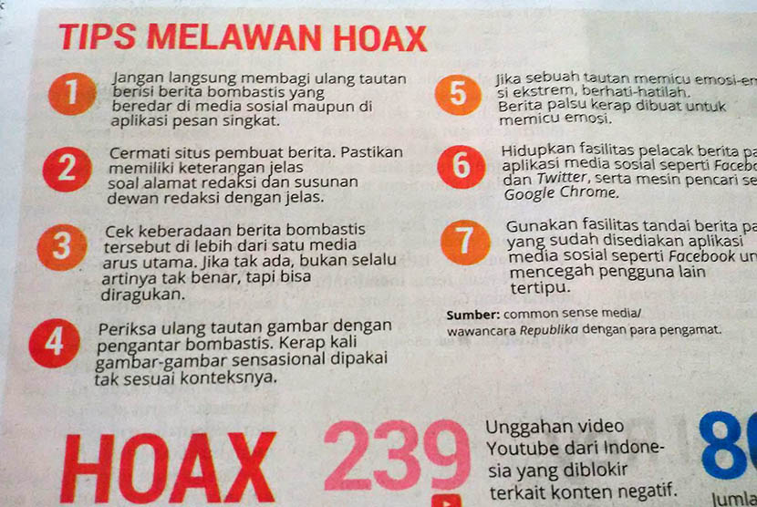 Tips melawan hoax
