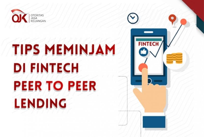 Tips meminjam di fintech  peer to peer lending.