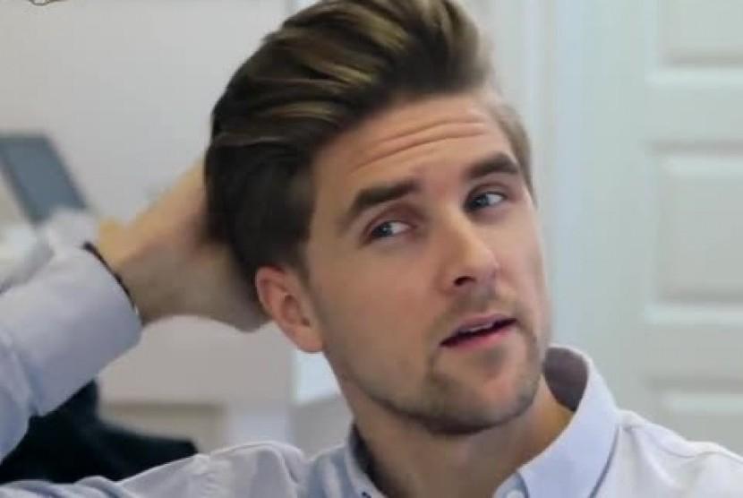 Tiga Gaya Rambut Pria Sembunyikan Rambut Rontok Republika Online