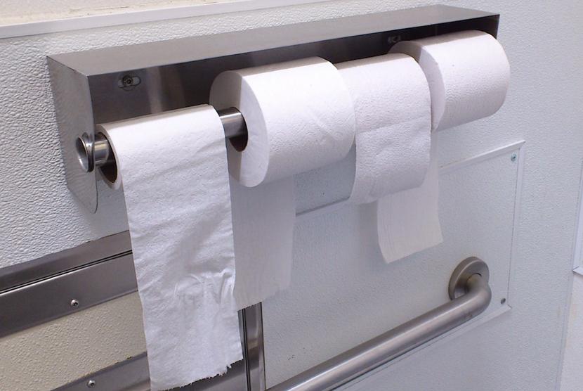 Tisu Toilet. Ilustrasi