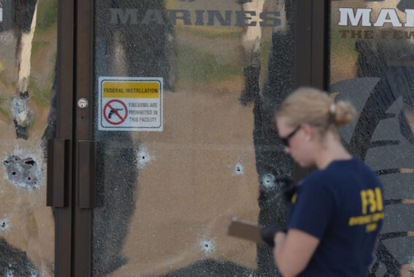 TKP penembakan di Chattanooga, Tennessee, AS, Kamis (16/7)