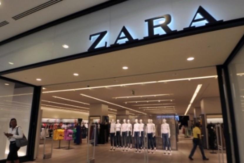 Toko retailer busana Zara