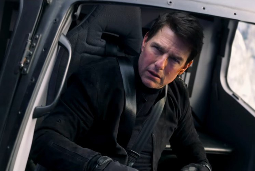 Tom Cruise dalam Mission Impossible Fallout.