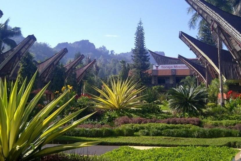 Tongkonan di Toraja