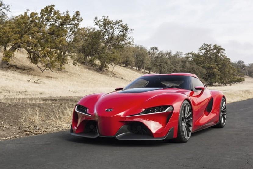 Toyota Supra 2019. Ilustraso