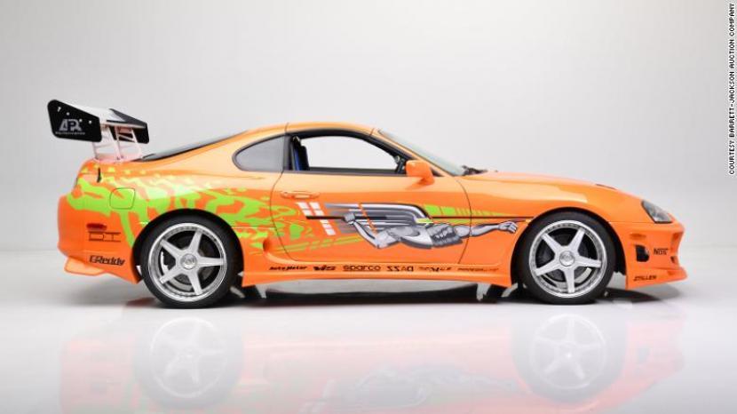 Toyota Supra in Fast & Furious Film Sold Rp 7 Billion