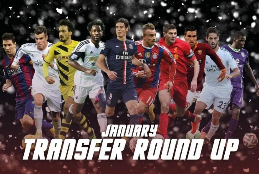 transfer pemain (ilustrasi)