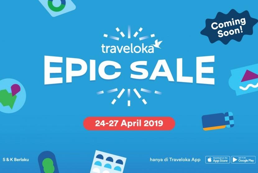 Traveloka Epic Sale.