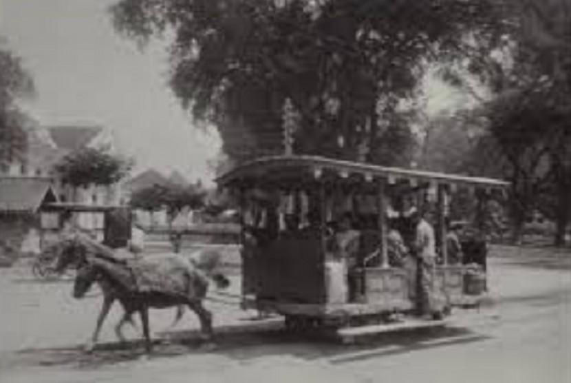 Trem kuda di Batavia